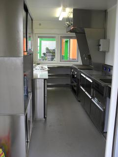 Gastronomie Bedarf, Imbiss Containereinrichtungen, Mobile Weinstation