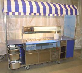 Cafeteria Technik, Schausteller Bedarf, Mobile Weinstation
